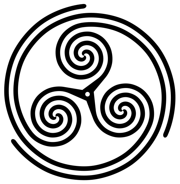 Triple Spiral Variation Known To Represent The Sun Spirituality