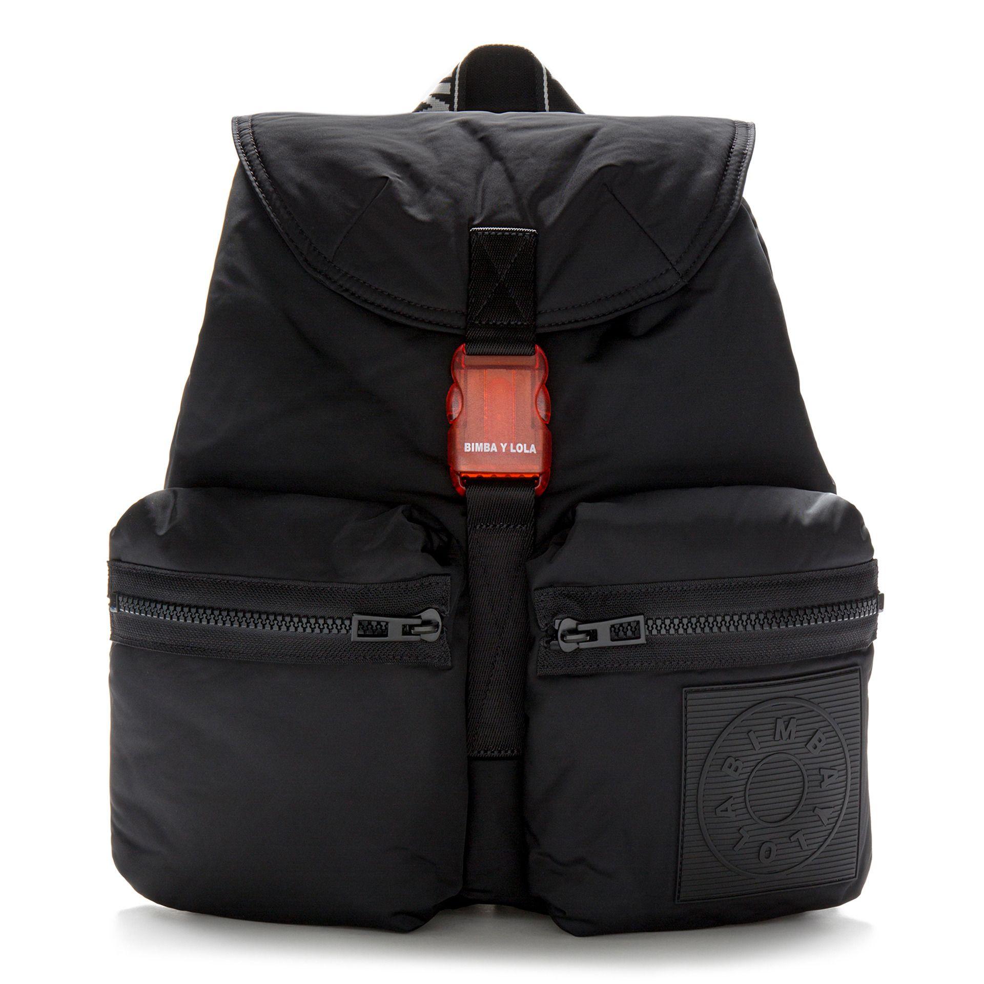 3818d46e5 Mochila grande acolchada negra | BIMBA Y LOLA | Bags, Womens fashion ...