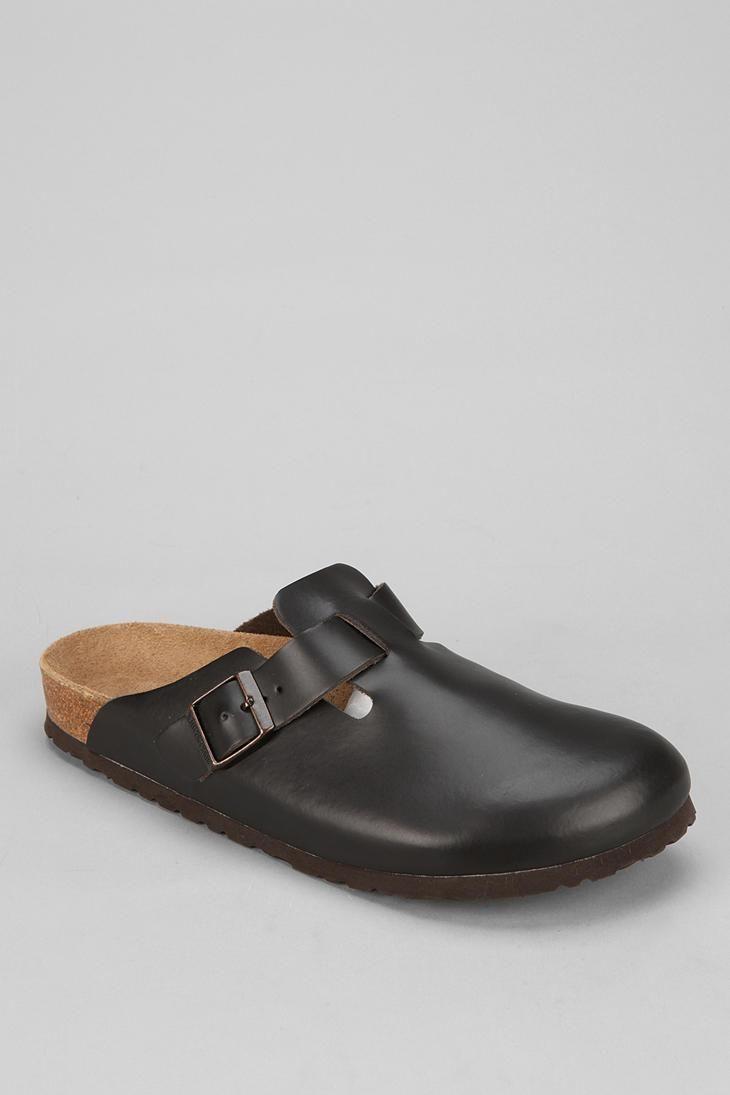 Birkenstock Boston Mule Slip-On Shoe #urbanoutfitters