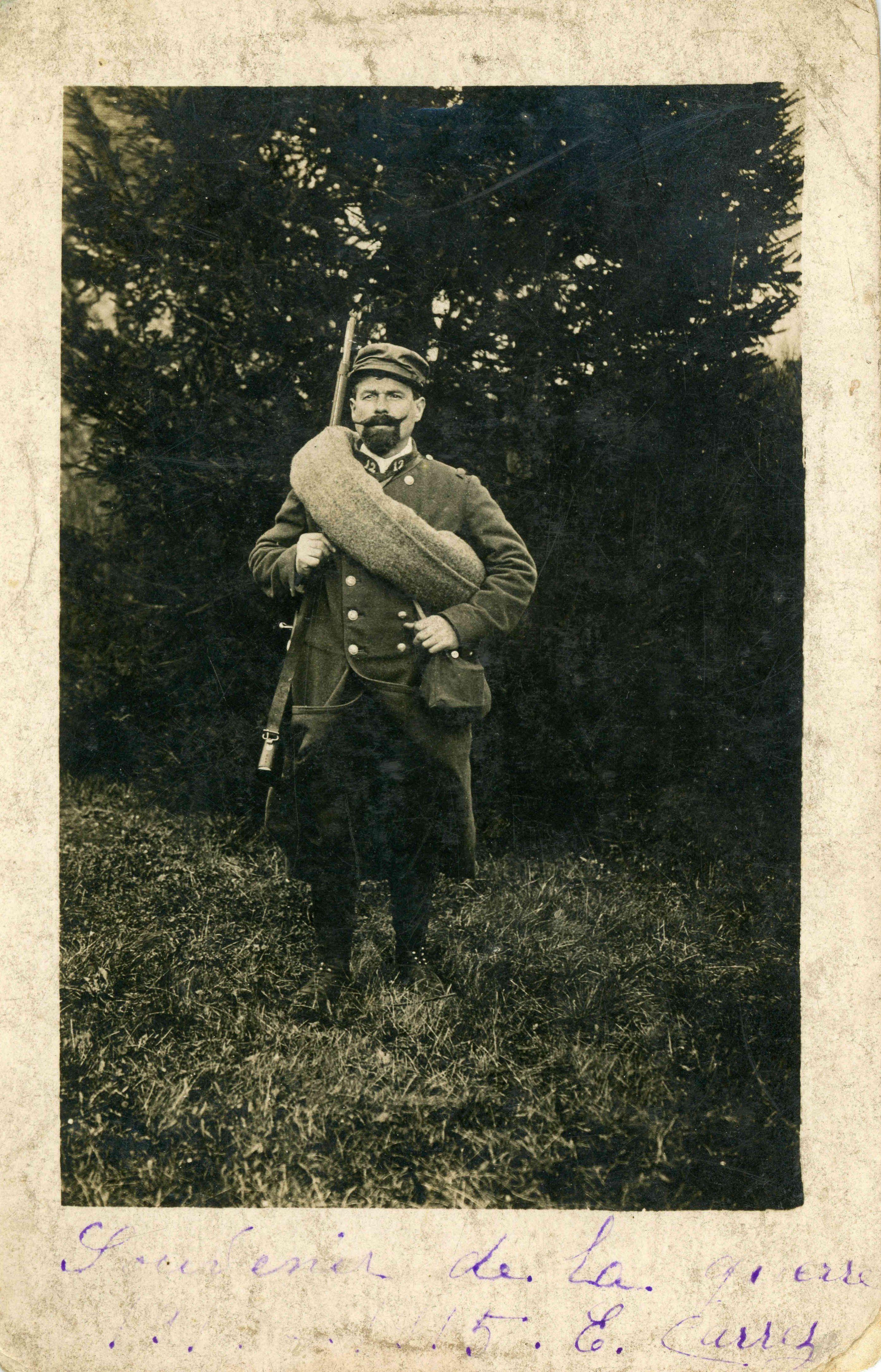 Ernest Carrez en avril 1915