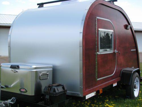 Big Woody Teardrop camper Trailer Plans Download | eBay