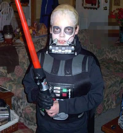 awesome darth vader costume for kids halloween - Halloween Darth Vader