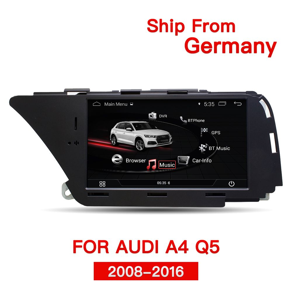 Idea Auto car aftermarket Android navigation for Audi