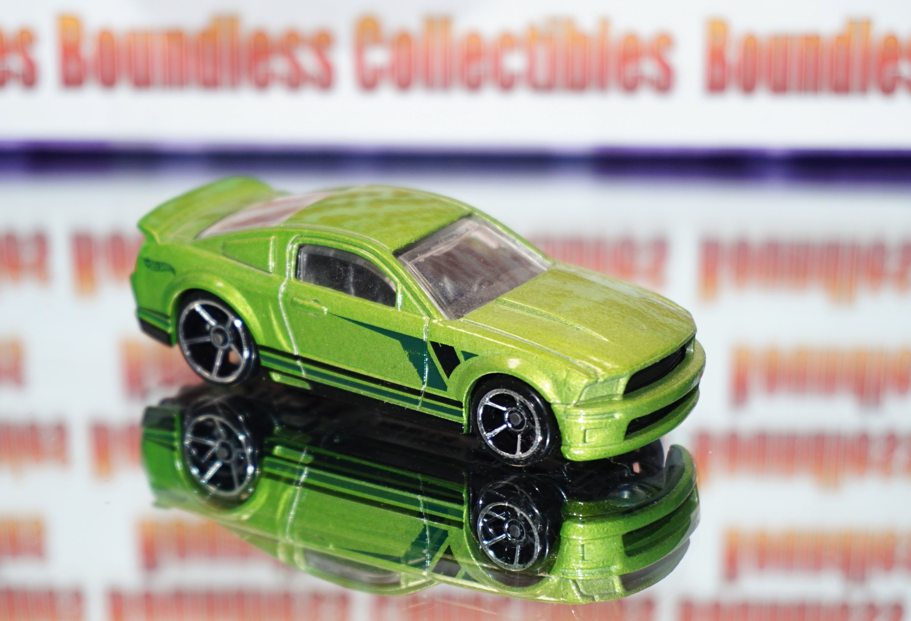 Hot Wheels 2007 07 Ford Mustang Green Boundlesscollectibles Com