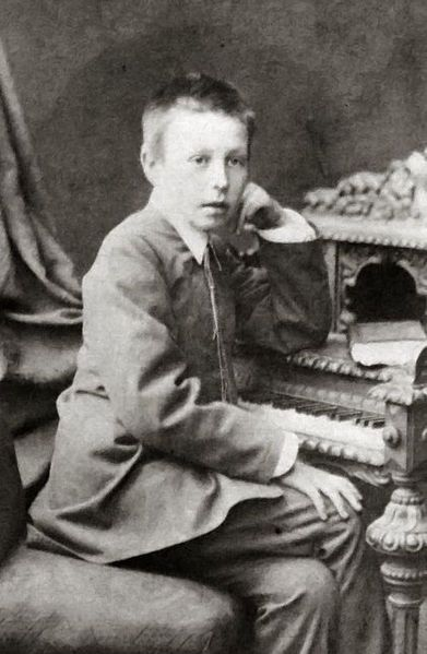 Sergei Rachmaninoff in 1885 (Age 12) | Great Composers