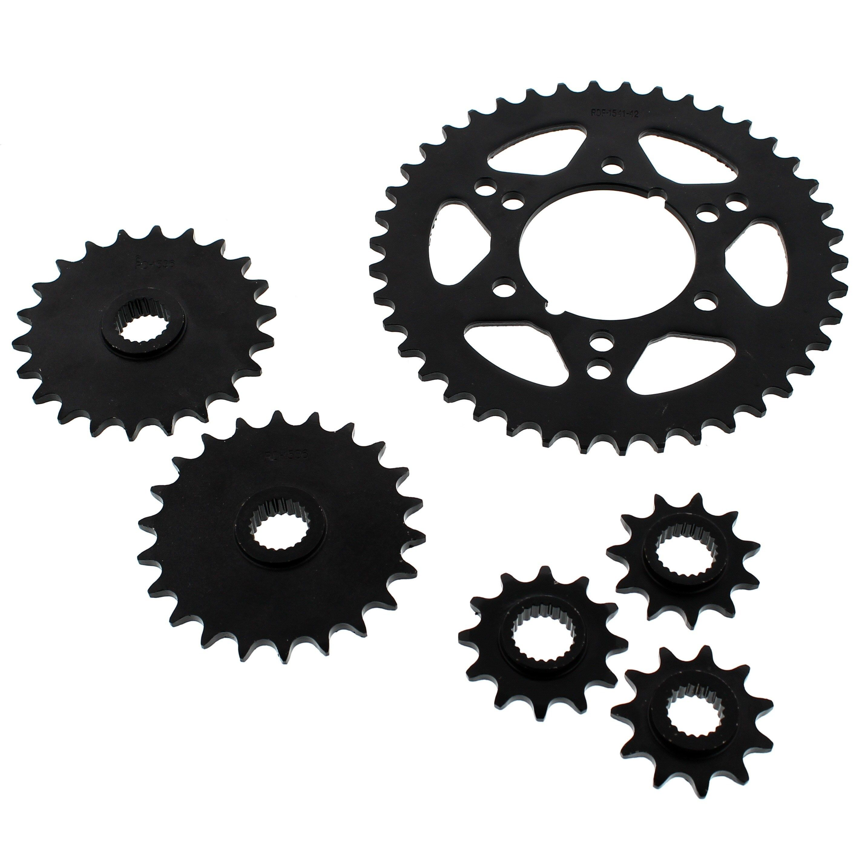 O-Ring Chain and 13//34 Sprocket Set Polaris 400L 2x4 1994-1995 400L
