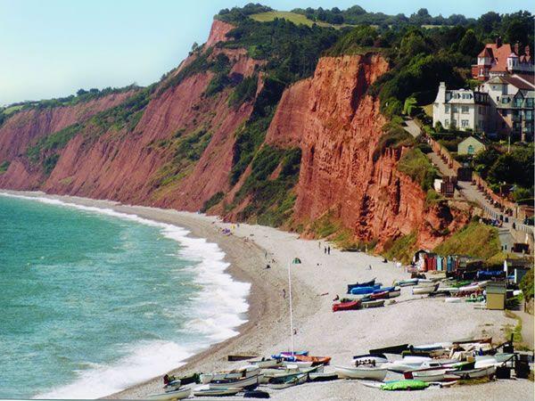 Budleigh Beach, Devon. Beautiful and unspoilt.