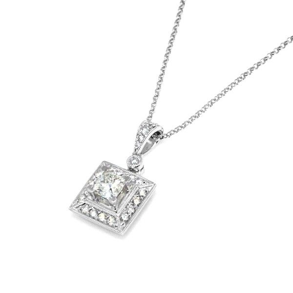 Princess cut diamond pendant necklace with pendants they often princess cut diamond pendant necklace with pendants they often make it easier for you to express aloadofball Gallery