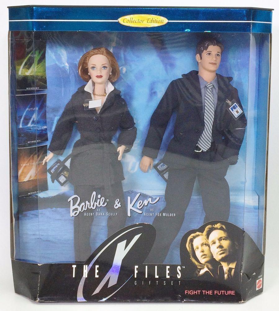 Barbie Fashion Ken as Agent Fox Mulder Dark Blue Jacket New