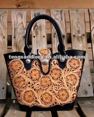 Source Hand Tooled Sheridan Style Leather Handbags on m.alibaba ...