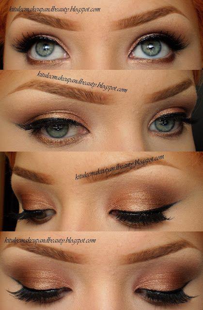 Copper Smokey Eyes Early Fall Makeup Look: Copper Smokey – Idea Gallery - Makeup Geek