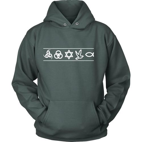 Christian Symbols Hoodie