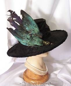 cc2e4f3d144 victorian bird hat | Antique-Victorian-Edwardian-Large-Real-Taxidermy-Bird -Millinery-Hat .