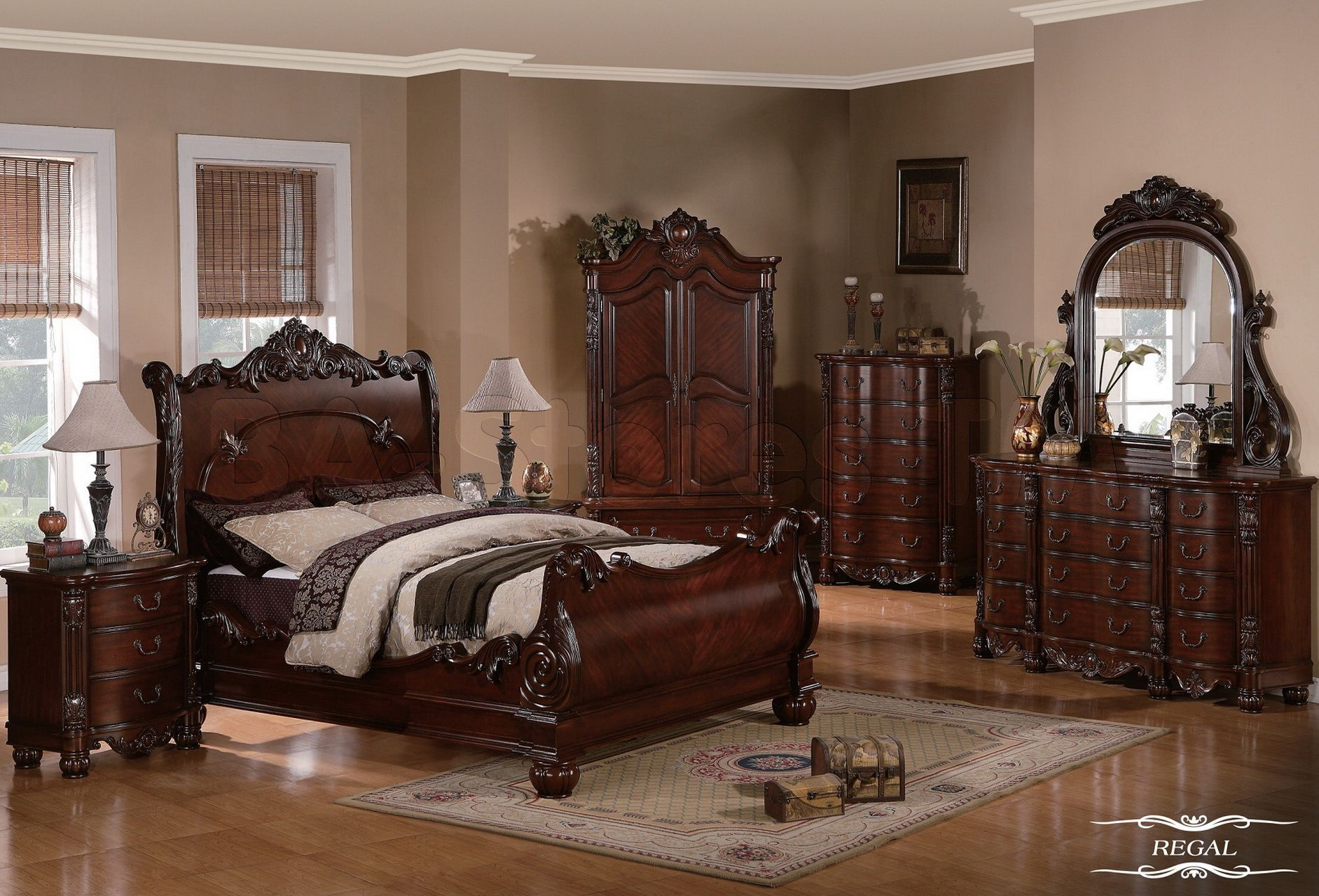 traditional bedrooms Bedroom Sets Classic traditional bedroom