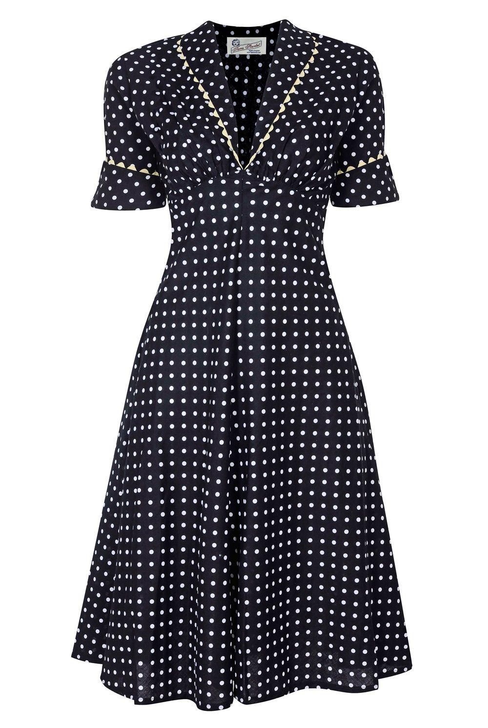 Tara Starlet 1940s 40s Style: Classic Starlet Dress, By Tara Starlet (www.tarastarlet