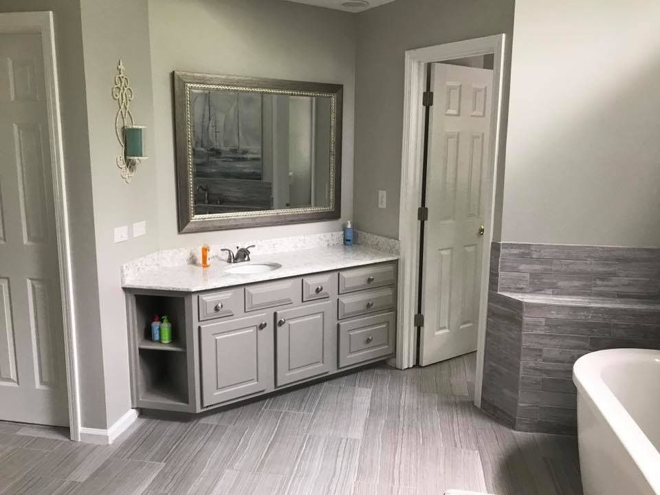 White And Grey Kitchen Furniture