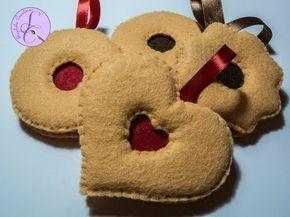 Tutorial: Occhio di bue in pannolenci (felt jam cookie) [sub-eng] - YouTube