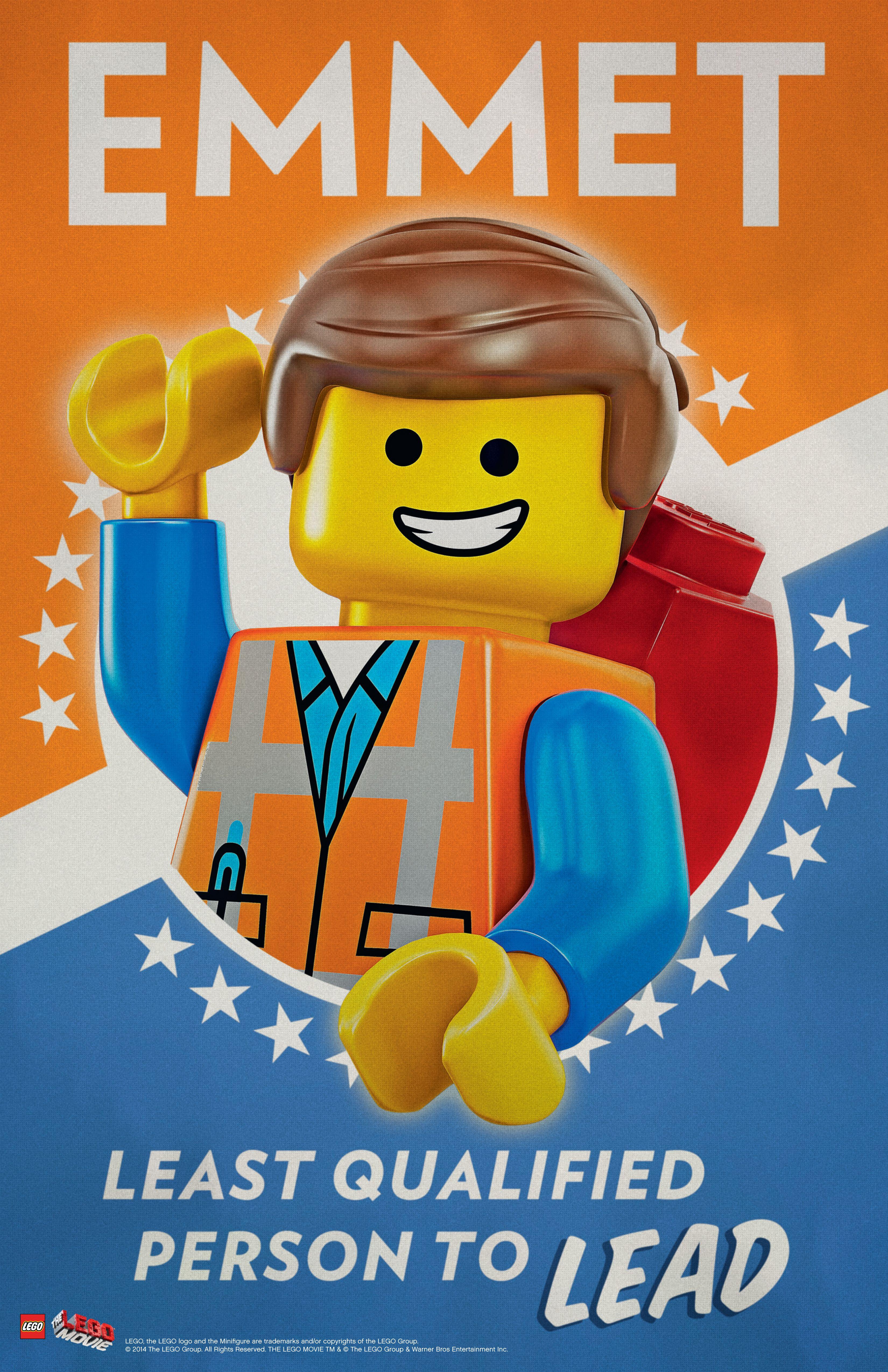 LEGO MOVIE PARTY - Decorations - FREE 11x17 LEGO Movie Emmet ...