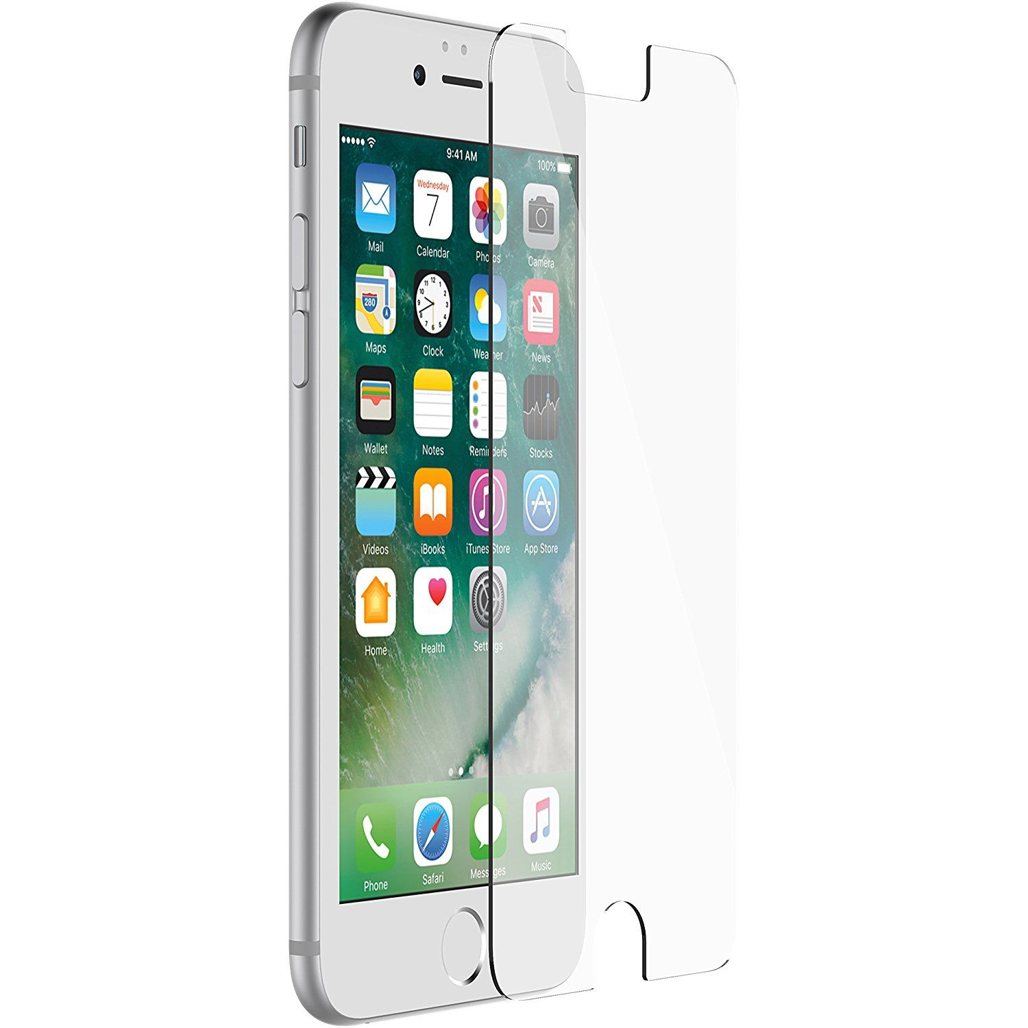 OtterBox ALPHA GLASS SERIES Screen Protector for iPhone 8