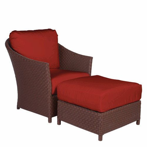 Captivating Acacia Home And Garden George Town Lounge Chair And Ottoman With Cushion  Review Buy Now