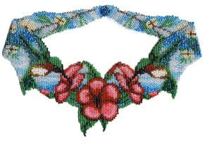 Hummingbird Weave Necklace Beading Pattern and Kit
