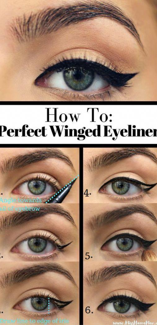 10 simple eyeliner tutorials for beginners 854558098028824704