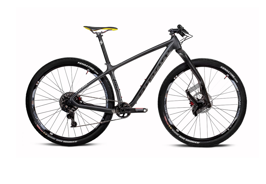 NINER Air 9 RDO XRacer Mountainbike Licorice Carbon 2016