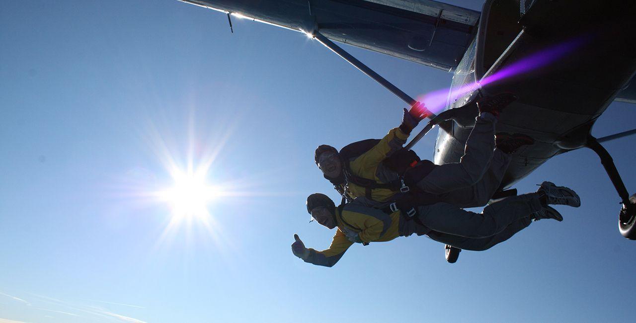 Fallschirmspringen Schnupperkurs In Illertissen Raum Ulm