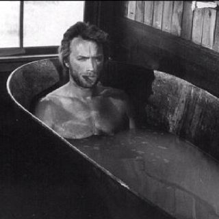 Steel bath.
