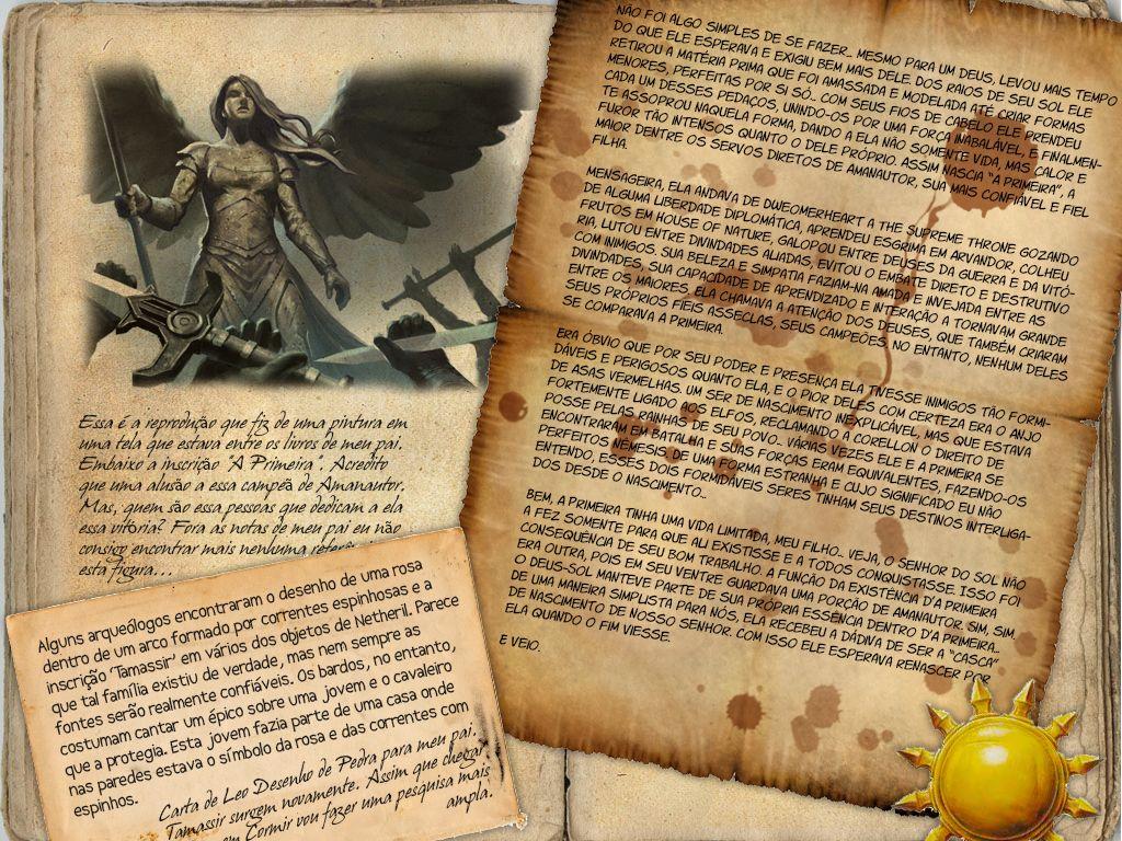 Mais páginas do diário de Ludwig Hari. A pesquisa do clérigo avança, bem como temos mais uma página do diário de seu pai e a origem d'A Primeira.