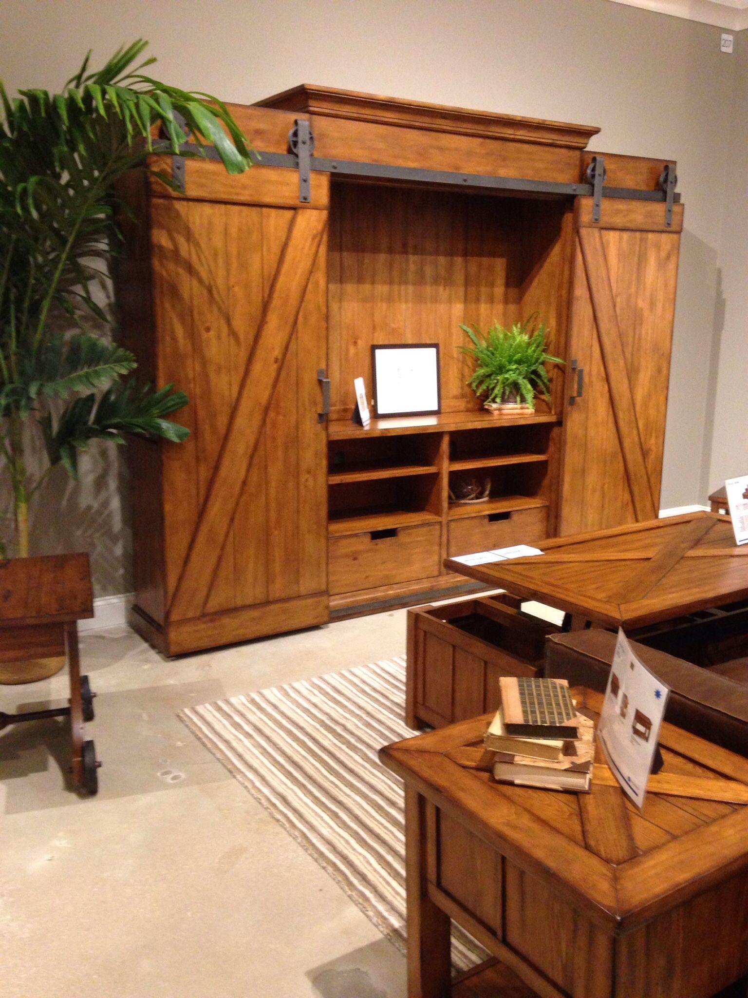 Entertainment Indian River Furniture Rockledge Florida Credenza Armoire Tack