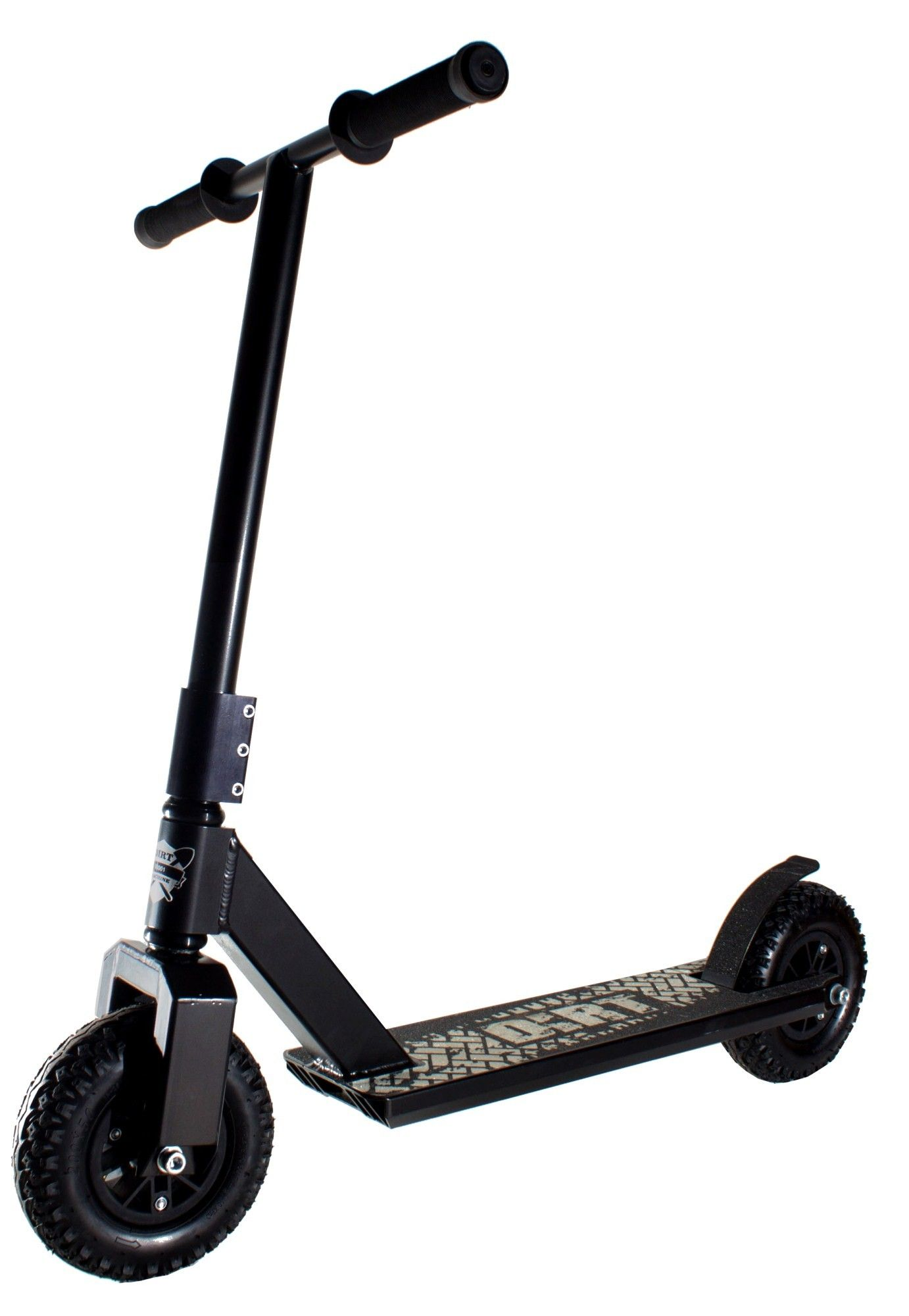 Dirt Scooter G1 Black Monopatin Patineta Vehiculos