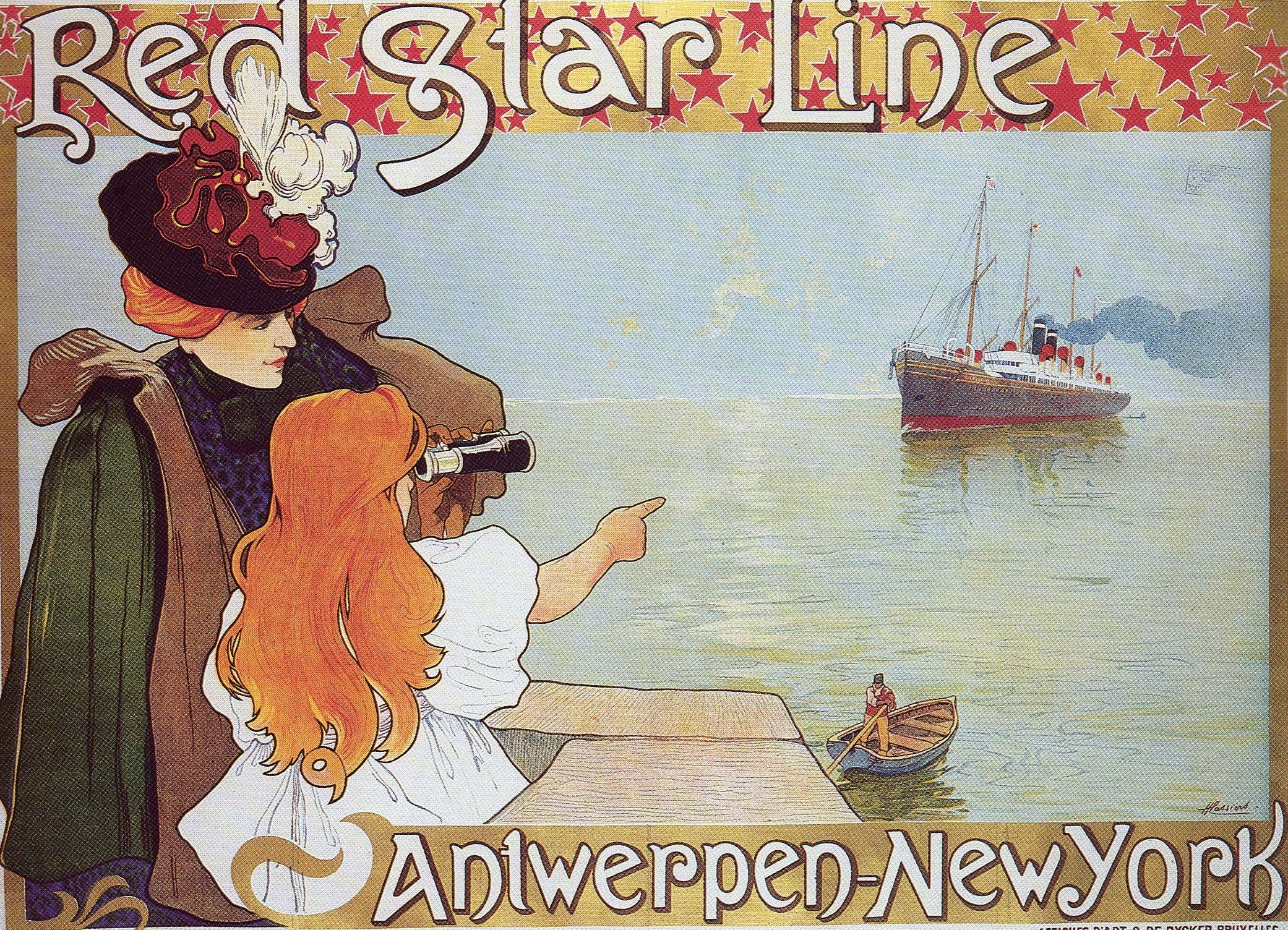 Redstarlineposter