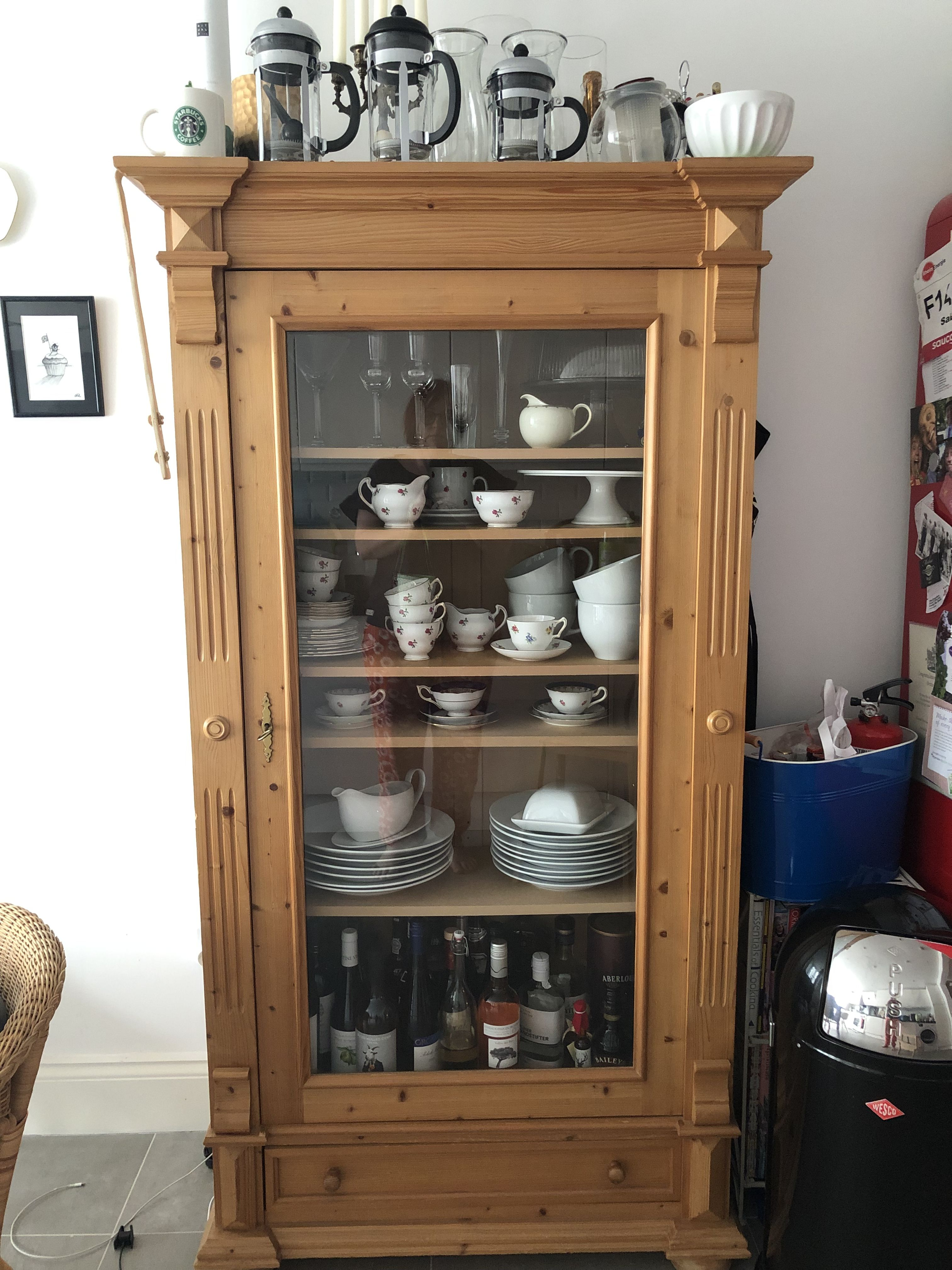 setting dishes in my kitchen kitchen organization home decor china cabinet on kitchen organization dishes id=60719
