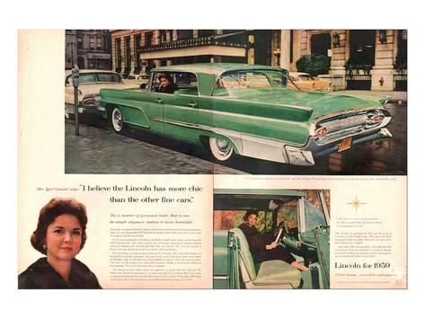 Lincoln 1959 Mrs Cassini All Things Michigan Pinterest Cars