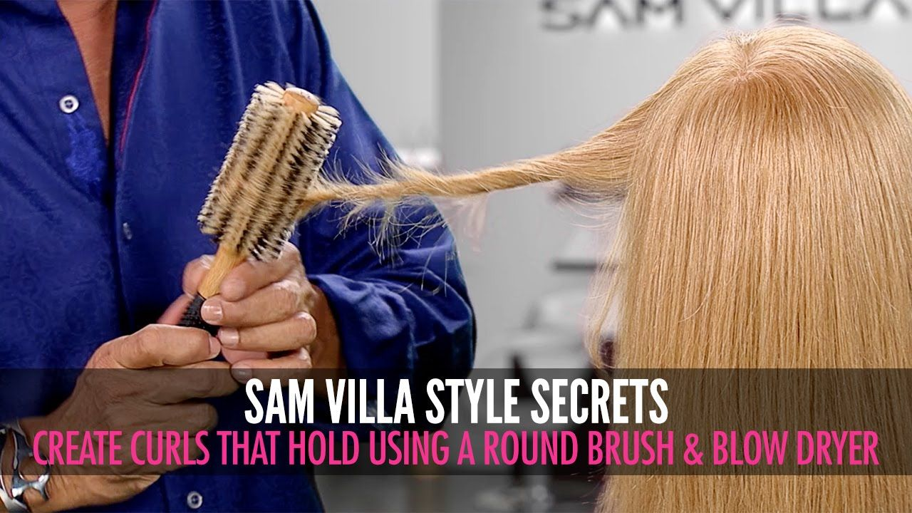 We Ve All Experienced It Before You Work Hard To Create Curls With Your Round Brush Only To See Part Of The Blow Dry Curls Round Hair Brush Round Brush Curls