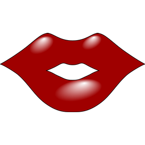 cartoon lips clipart free clipart ami stuff pinterest rh pinterest com Red Lips Clip Art Kissing Lips Clip Art