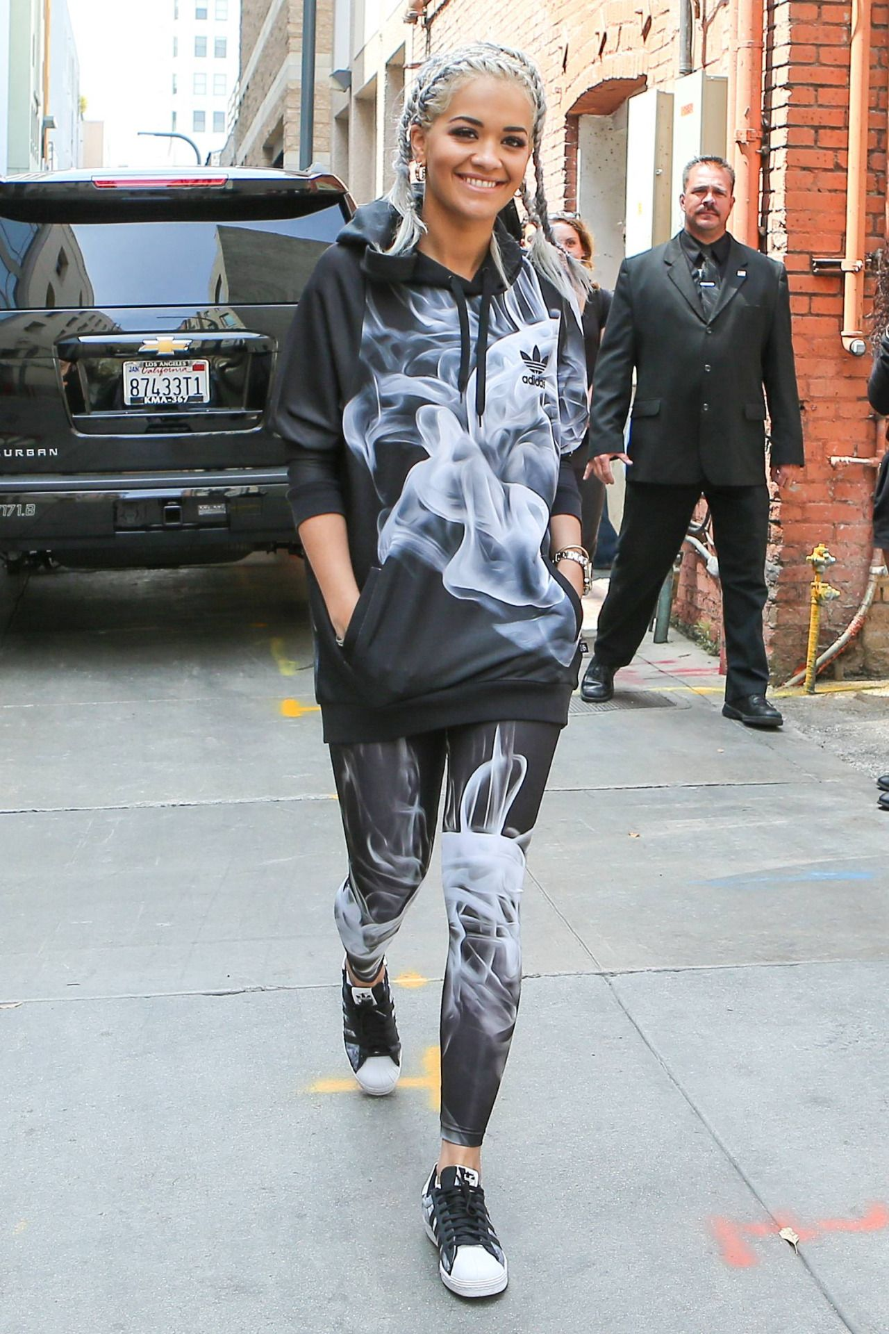 Pin by Lillie Grace on The Look   Rita ora adidas, Adidas outfit