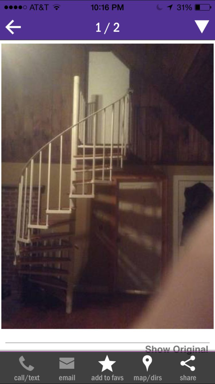 Best 325 Spiral Staircase On Craigslist With Images Spiral Staircase Staircase Cabin 400 x 300