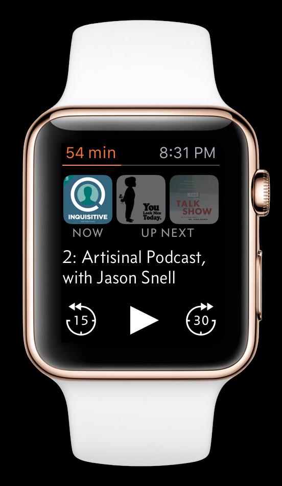 Redesigning Overcast's Apple Watch app Apple