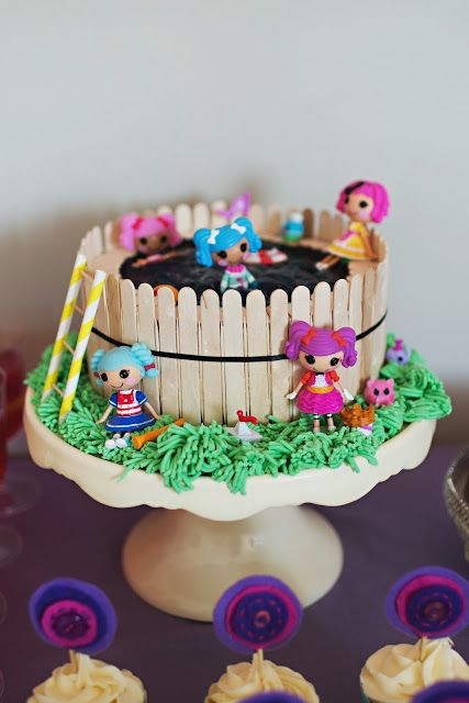 Lalaloopsy pool birthday cake photographed by fiona andersen find this pin and more on ice cream stick also the best craft images pinterest rh