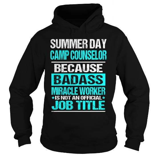 Cool Summer Day Camp Counselor T shirts #tee #tshirt #named tshirt