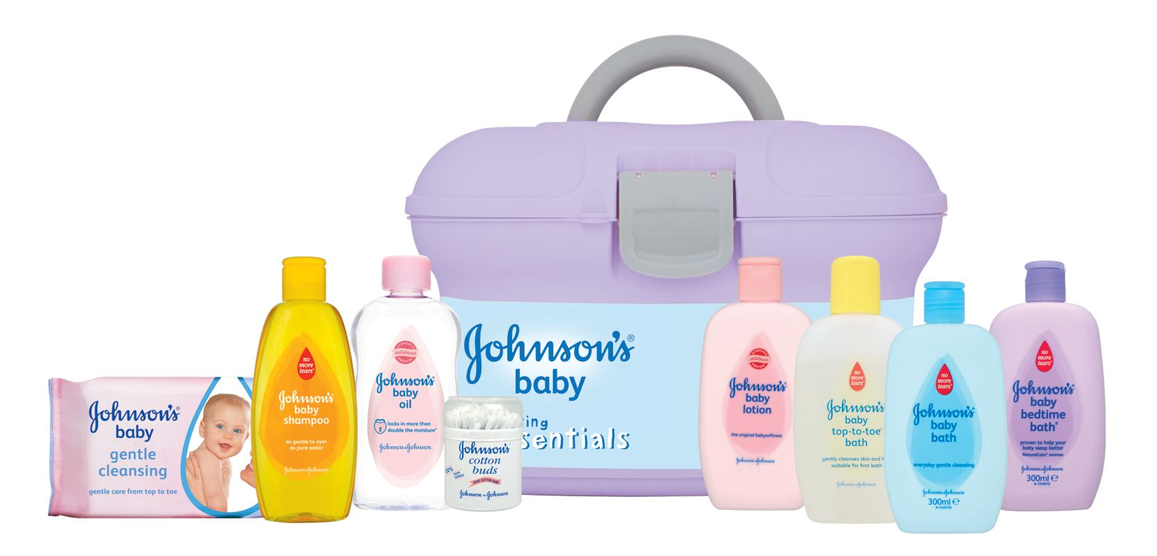 Johnson S Baby Essentials Box Baby Essentials Gift Baby