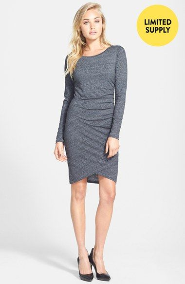 Tildon Ruched Long Sleeve Dress (Online Only) available at #Nordstrom