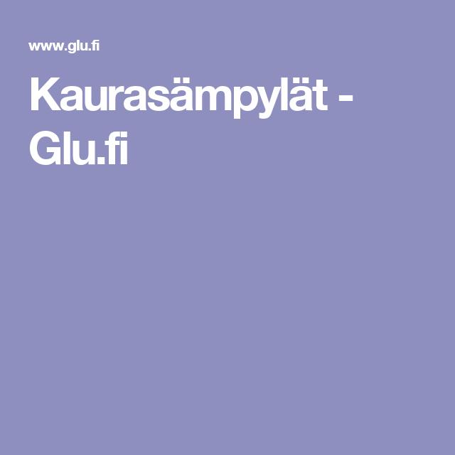 Kaurasämpylät - Glu.fi