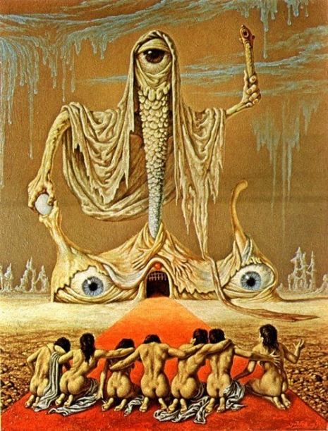 Dutch master: The grotesque & twisted surrealism of Johfra Bosschart | Dangerous Minds