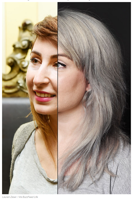 Three Ways To Deal With Gray Hair   Hair inspiration color ...