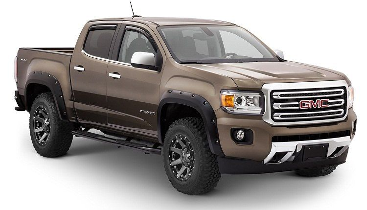 Bushwacker Fender Flares For Gmc Canyon 2017 2016 Chevy Colorado