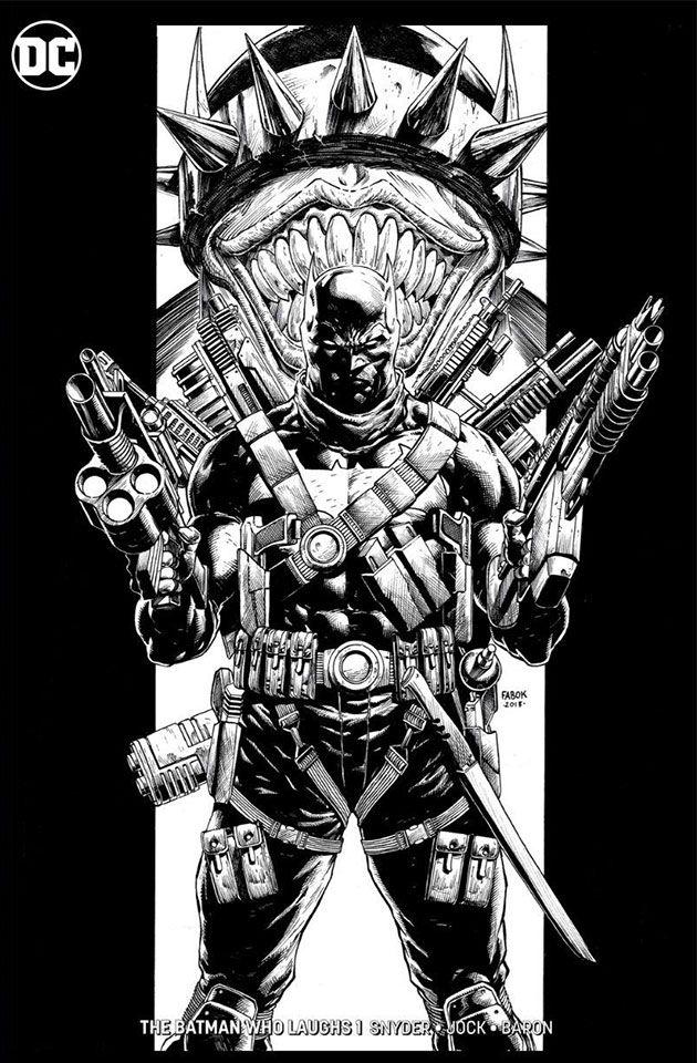 The Batman Who Laughs #1 Yesteryear Comics Jason Fabok variant
