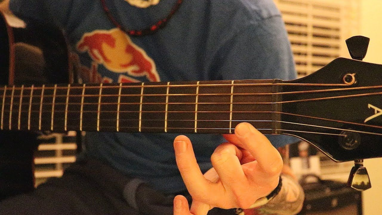 How To Play After Dark By Mr Kitty Guitar Tutorial Guitar Tutorial After Dark Guitar